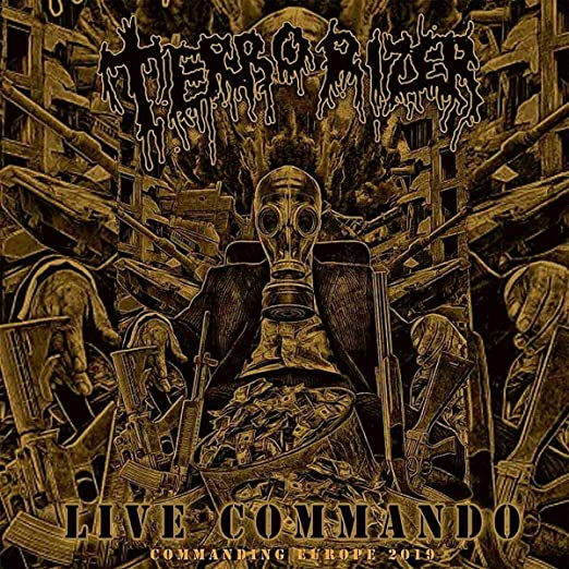 "Terrorizer-""Live Commando"" on Green Vinyl"