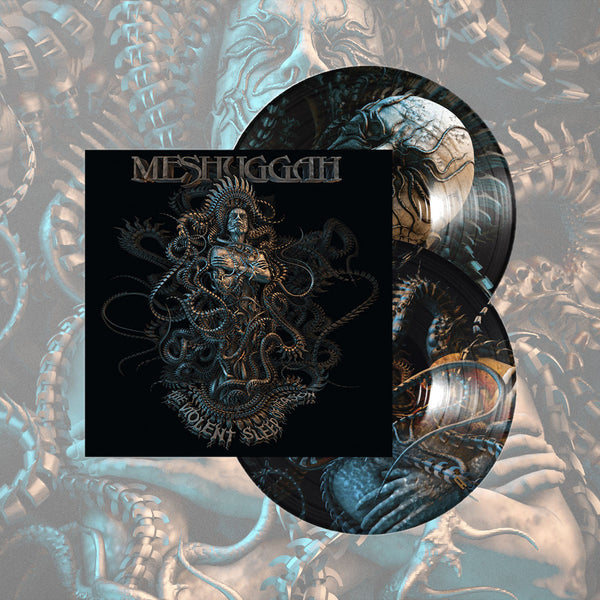 "Meshuggah-""The Violent Sleep of Reason"" -  Limited Edition Double LP Picture Disc. Comes with a poster signed by drummer, Tomas Haake"