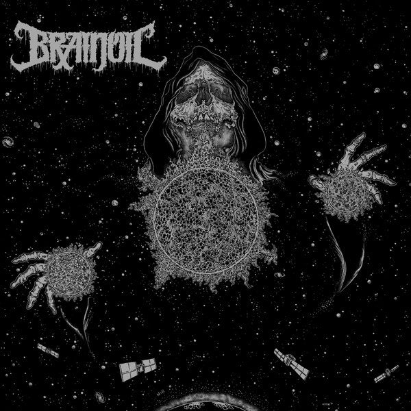 "Brainoil-""Singularity to Extinction"" Black Vinyl"