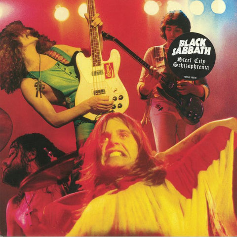 "Black Sabbath-""Steel City Schizophrenia: The Lost King Biscuit Flower Hour Reels"" Fan Club Black Vinyl"