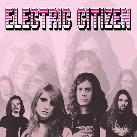 "Electric Citizen-""Higher Time"" Baby Blue Vinyl Limited to 500"