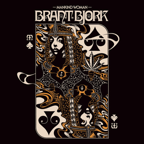 "Brant Bjork-""Mankind Woman"" Black or Limited Splatter Vinyl"