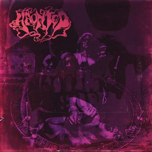 "Haunted-""Haunted"" Black Vinyl 12"""