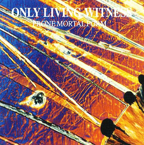 "Only Living Witness-""Prone Mortal Form"" Purple/Orange Split Colored Vinyl, gatefold, limited to 1000, indie retail exclusive"