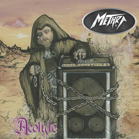 "Methra-""Acolyte"" Limited Edition 140 gram Yellow Vinyl, 320 Copies Worldwide"