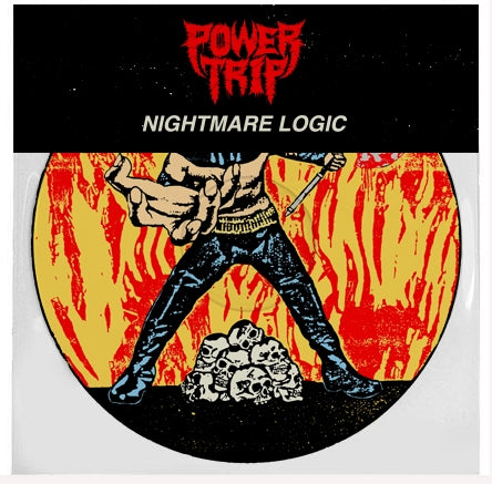 "Power Trip-""Nightmare Logic"" Picture Disc, Limited Press of 1000"
