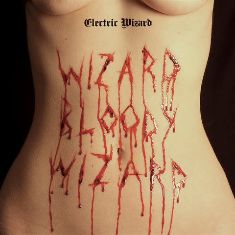 "Electric Wizard-""Wizard Bloody Wizard"" Opaque Red Vinyl, Limited to 1000. Comes with a Poster and Download Card."