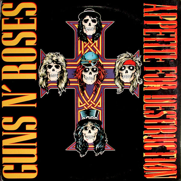 "Pre-Order! Random Pick! Guns N Roses-""Appetite For Destruction"" 30th Anniversary, 180 Gram Double LP"