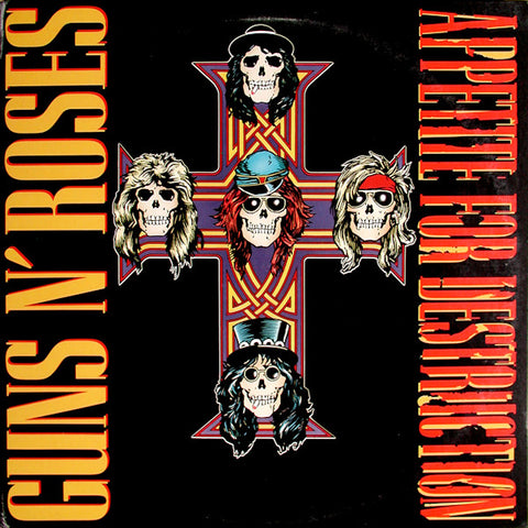 "Random Pick! Guns N Roses-""Appetite For Destruction"" 30th Anniversary, 180 Gram Double LP"