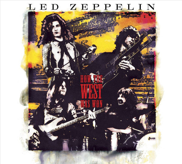 "Random Pick! Led Zeppelin-""How The West Was Won"" Deluxe Remastered 3CD/4LP/1DVD Box on 180 Gram Black Vinyl or Regular 4 LP 180 Gram Black Vinyl Box"