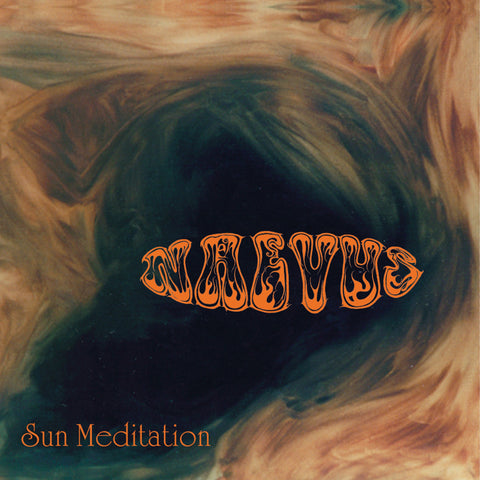 "Pre-Order! Naevus-""Sun Meditation"" Limited Pressing of 250 of the Long Out-of-Print, 1998 Doom Metal Classic on 180 Gram Orange Vinyl. Gatefold Sleeve."