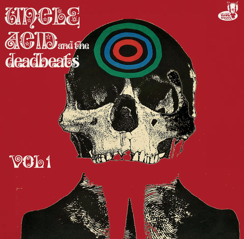 "Uncle Acid and the Deadbeats ""Volume 1"", 180 gram Cherry Red or White Vinyl"