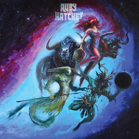 "Ruby The Hatchet-""Planetary Space Child"" Limited Purple Vinyl."