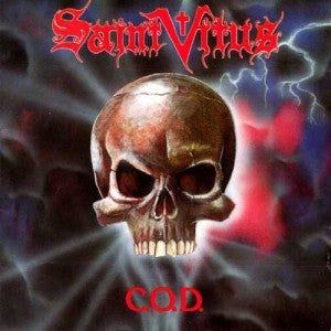 "Saint Vitus-""C.O.D."" Limited Edition of 200 Copies on Red Cassette"