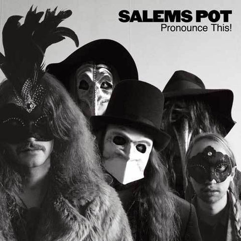 "Salem's Pot-""Pronounce This!"" Limited Edition Red Gatefold Double Vinyl With Band Logo Etching on Side D"