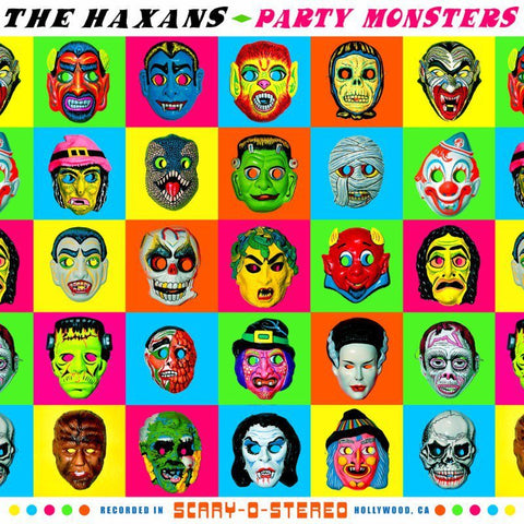 "Random Pick! The Haxans-""Party Monsters"". Blue or Green Vinyl, Hand Numbered Limited Edition of 200. Comes With a Download Code."