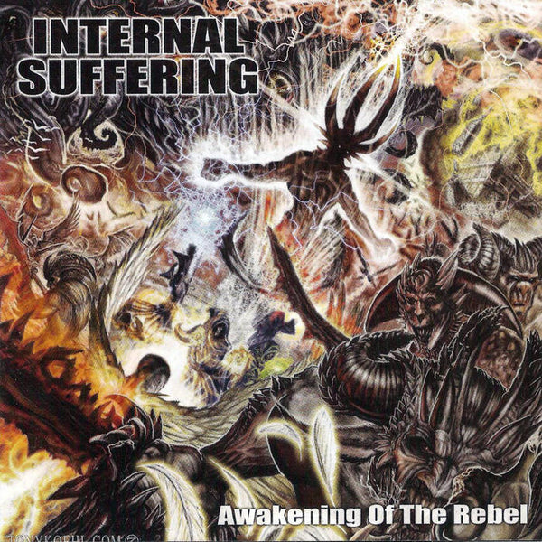 "Internal Suffering-""Awakening of the Rebel"" on Black Cassette"