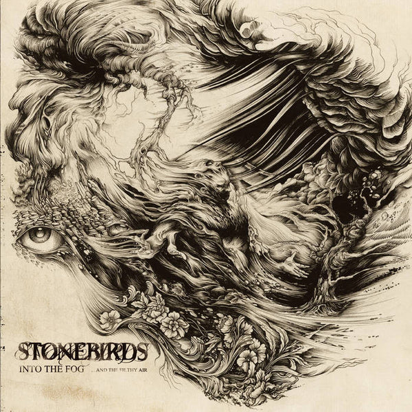 "StoneBirds-""Into The Fog...And The Filthy Air"" 12"" Black Vinyl, Limited to 300"
