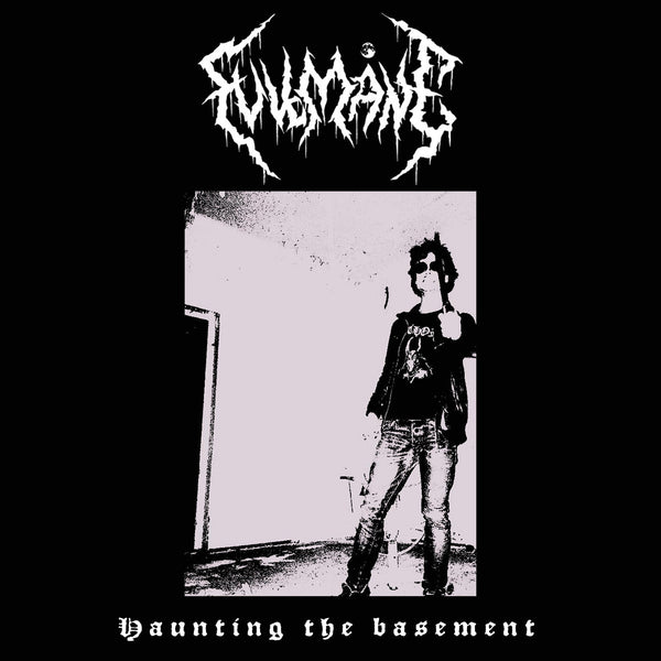 "Fullmane-""Haunting The Basement"" on Black Cassette"