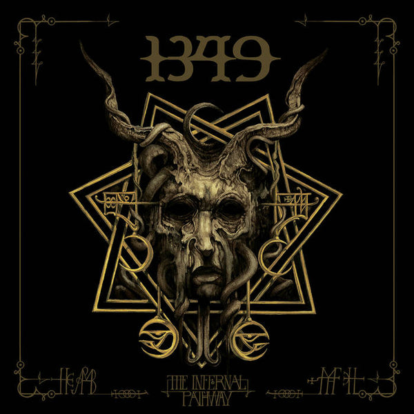 "1349-""The Infernal Pathway"" Double LP or Cassette"