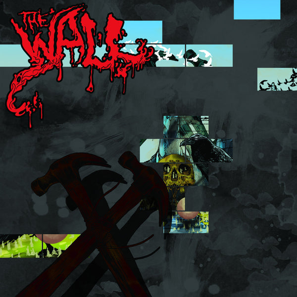 "Various Artists-""The Wall-Redux"" Double Aqua Blue Vinyl, Indie Retail Exclusive, Limited to 300"