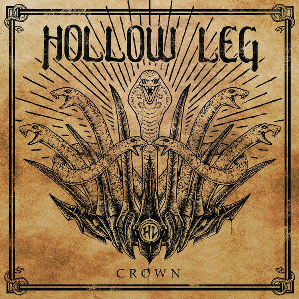 "Hollow Leg-""Crown"" Limited Edition Beer/Swamp Green Splatter. Comes with a Download Code."