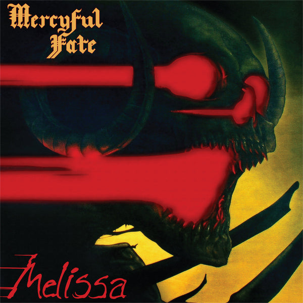 "Mercyful Fate-""Melissa"" Reissue on Limited Red/Yellow Vinyl with Download Card"