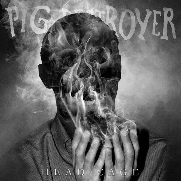 "Pig Destroyer-""Head Cage"" White Colored Vinyl, limited to 500, indie-retail exclusive"