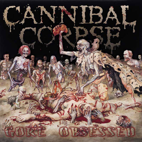 "Cannibal Corpse-""Gore Obsessed"" Limited Picture Disc"