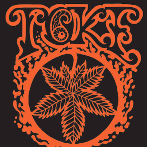 "Toke-""Orange"" 'Piss Pressing' limited to 250 on florescent yellow vinyl, jacket with spot UV."