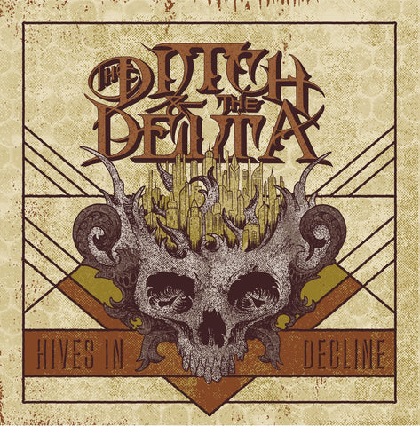"The Ditch and The Delta-""Hives in Decline"" 12"" Clear Vinyl, Limited to 100 Worldwide w/ Download Card"
