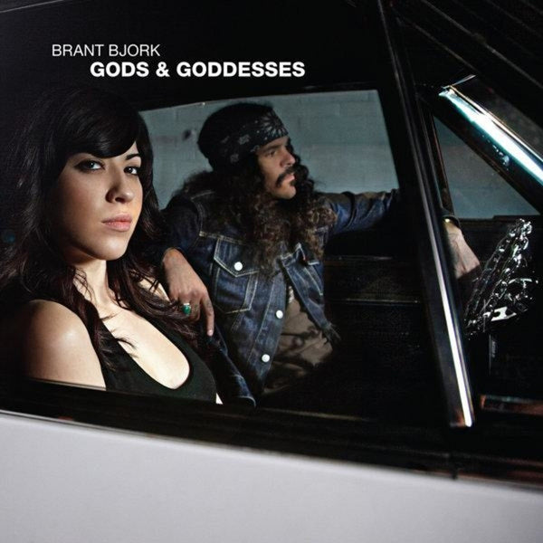 "Pre-Order! Brant Bjork-""Gods and Goddesses"" Transparent Blue or Yellow/Blue Vinyl"