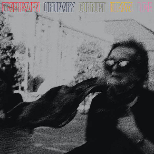 "Deafheaven-""Ordinary Corrupt Human Love""  2 LP 180 Gram Clear and Solid Yellow Mixed Vinyl, Import"