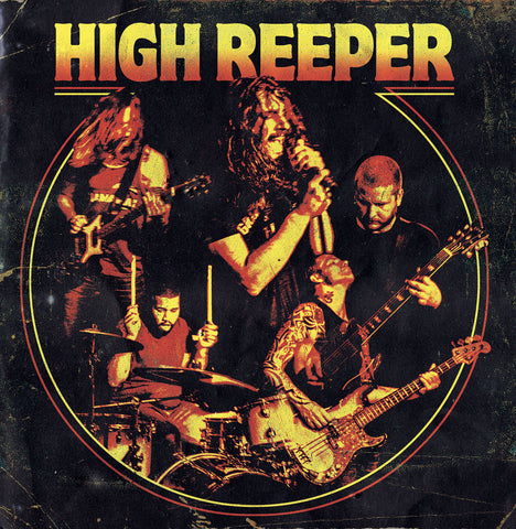 "High Reeper-""High Reeper"" Limited Edition Orange Vinyl."