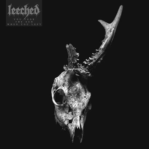 "Leeched-""You Took The Sun When You Left"" Limited Clear Colored Vinyl With Blue Splatter"
