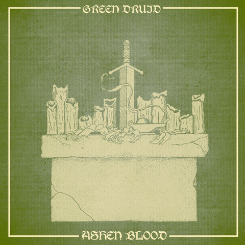 "Green Druid-""Ashen Blood"" Double LP"