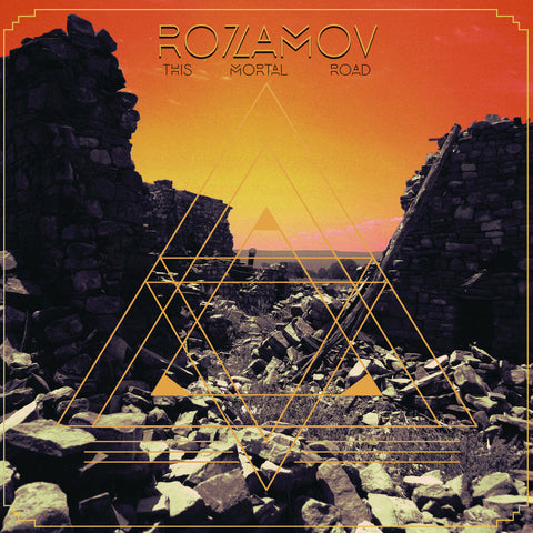 "Rosamov-""This Mortal Road"" 150 Gram Clear Vinyl, Limited Edition of 250. Comes w/ Download Card"