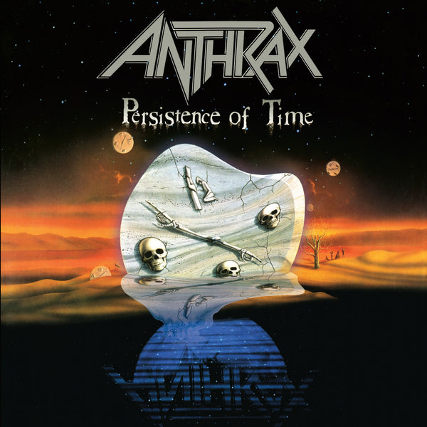 "Anthrax-""Persistence of Time"" 30th Anniversary 4 LP Limited Edition, Remastered, Bonus Unreleased Tracks"