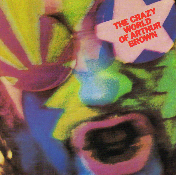 "Pre-Order! The Crazy World of Arthur Brown-""The Crazy World of Arthur Brown"" 50th Year Anniversary Vinyl and 3 CD Box Set"