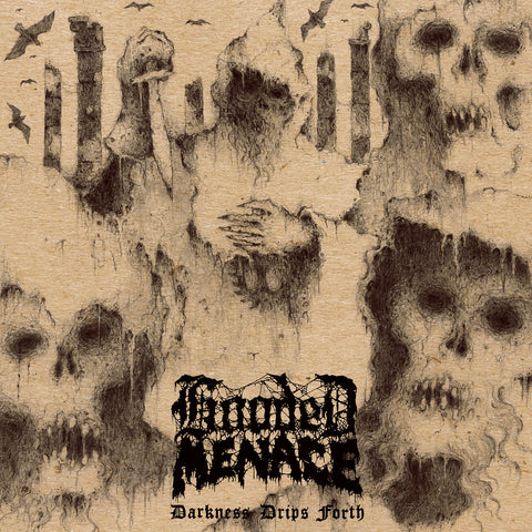 "Hooded Menace-""Darkness Drips Forth"" Limited Edition Silver Vinyl"