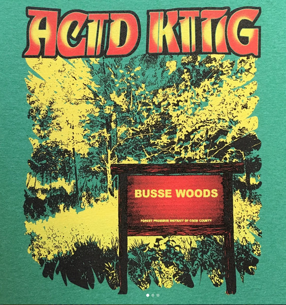 "Acid King-""Busse Woods"" Random Black or Colored Vinyl"