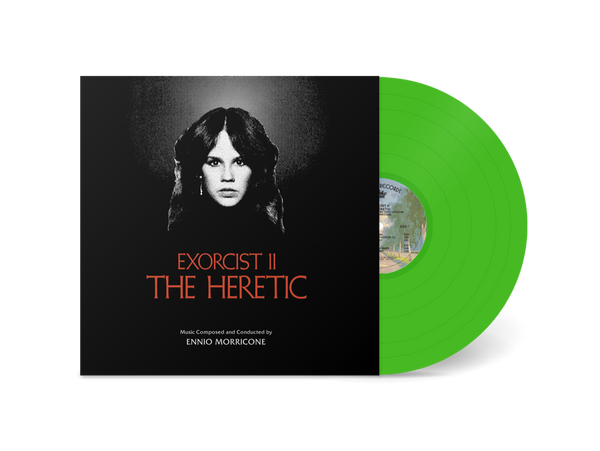"Pre-Order! Random Pick! Ennio Morricone-""Exorcist II: The Heretic"" OST on Fluorescent Green Vinyl"
