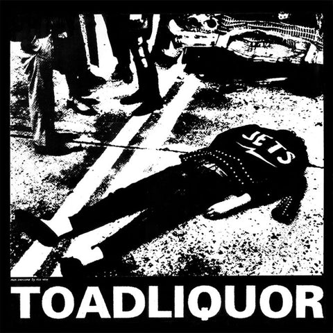 "Toadliquor-""Cease and Decease"" Black Double Vinyl"