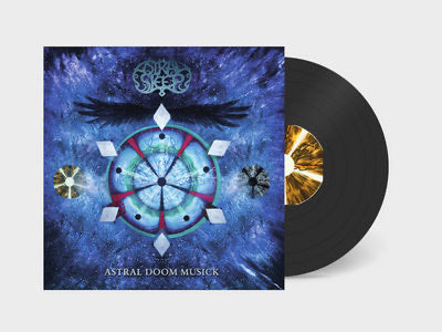 "Astral Sleep-""Astral Doom Musick"" 180 Gram Black Vinyl with Gatefold Sleeve That Doubles As A Boardgame"
