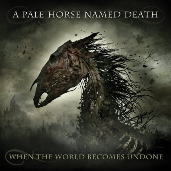"Pre-Order! A Pale Horse Named Death-""When The World Becomes Undone"" Limited Double LP+CD Box Set, Comes with a Beanie, Patch, Sticker and Guitar Pick."
