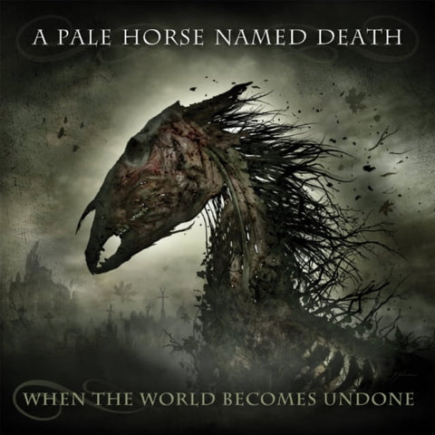 "A Pale Horse Named Death-""When The World Becomes Undone"" Limited Double LP+CD Box Set, Comes with a Beanie, Patch, Sticker and Guitar Pick."