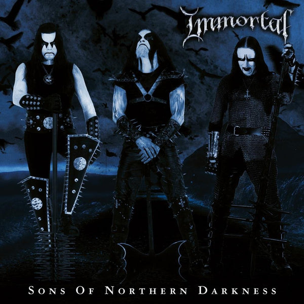 "Immortal-""Sons of Northern Darkness"" On Limited Black and Blue Splatter Vinyl"