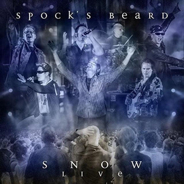 "Random Pick! Spock's Beard-""Snow: Live"" Triple White Vinyl, Limited to 550."