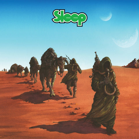 "Sleep-""Dopesmoker"" Opaque Green Double Vinyl"