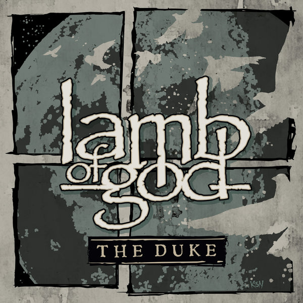 "Lamb of God-""The Duke"" Limited to 300 Clear Vinyl Worldwide"